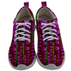 Jungle Flowers In The Orchid Jungle Ornate Mens Athletic Shoes