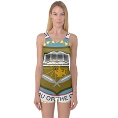 Seal Of United States Census Bureau One Piece Boyleg Swimsuit by abbeyz71