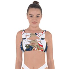 Seal Of United States Patent And Trademark Office Bandaged Up Bikini Top