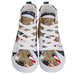 Seal Of United States Patent And Trademark Office Kids  Hi Top Skate Sneakers