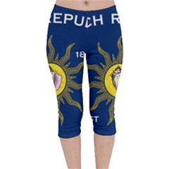 Flag Of Conch Republic Velvet Capri Leggings