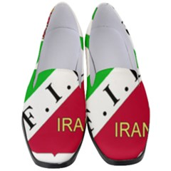 Iran Football Federation Pre 1979 Women s Classic Loafer Heels