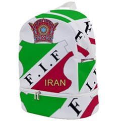 Iran Football Federation Pre 1979 Zip Bottom Backpack
