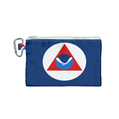 Flag Of National Oceanic And Atmospheric Administration Canvas Cosmetic Bag (small)