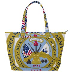 Emblem Of The United States Department Of The Army Back Pocket Shoulder Bag  by abbeyz71