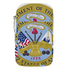 Emblem Of The United States Department Of The Army Waist Pouch (large)