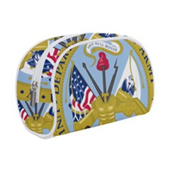 Emblem Of The United States Department Of The Army Makeup Case (small) by abbeyz71