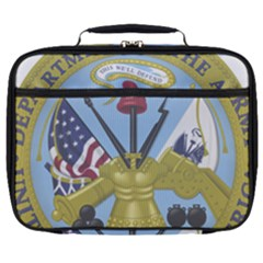 Emblem Of United States Department Of Army Full Print Lunch Bag