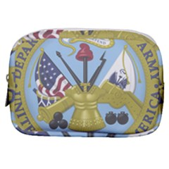 Emblem Of United States Department Of Army Make Up Pouch (small) by abbeyz71