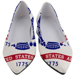 Flag Of United States Department Of Army  Women s Block Heels