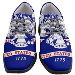 Field Flag Of United States Department Of Army Women Heeled Oxford Shoes