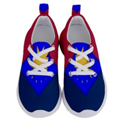 Flag Of United States Army 40th Infantry Division Running Shoes