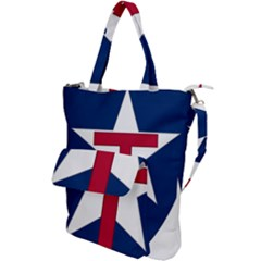 Coat Of Arms Of Texas State Guard Shoulder Tote Bag