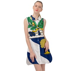 Coat Of Arms Of United States Army 143rd Infantry Regiment Sleeveless Shirt Dress