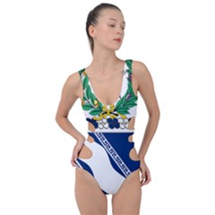 Coat Of Arms Of United States Army 144th Infantry Regiment Side Cut Out Swimsuit
