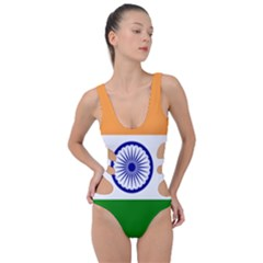 Flag Of India Side Cut Out Swimsuit by abbeyz71