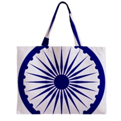 Ashoka Chakra Zipper Mini Tote Bag by abbeyz71