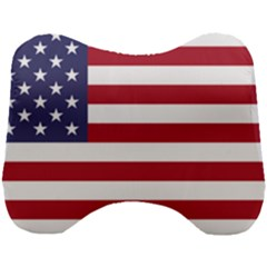 Flag Of The United States Of America  Head Support Cushion