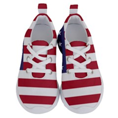 Flag Of The United States Of America  Running Shoes
