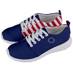 Betsy Ross Flag Usa America United States 1777 Thirteen Colonies Vertical Men s Lightweight Sports Shoes by snek