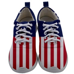 Betsy Ross Flag Usa America United States 1777 Thirteen Colonies Vertical Mens Athletic Shoes by snek