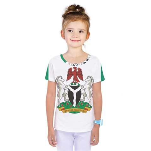 Flag Of Nigeria  Kids  One Piece Tee by abbeyz71
