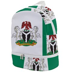 Flag Of Nigeria  Zip Bottom Backpack