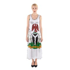Flag Of Nigeria  Sleeveless Maxi Dress by abbeyz71