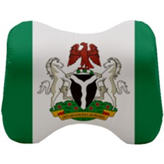 Flag Of Nigeria  Head Support Cushion by abbeyz71