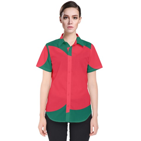 Flag Of Bangladesh Women s Short Sleeve Shirt by abbeyz71