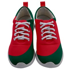 Flag Of Bangladesh Mens Athletic Shoes by abbeyz71