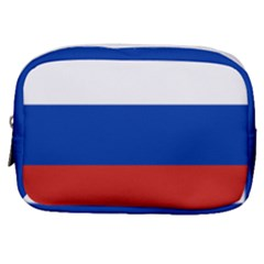National Flag Of Russia Make Up Pouch (small) by abbeyz71