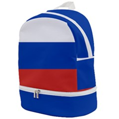 National Flag Of Russia Zip Bottom Backpack