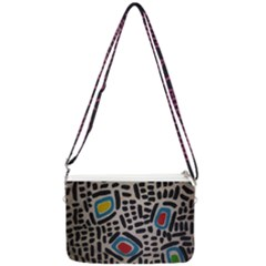 Edm By Traci K Double Gusset Crossbody Bag