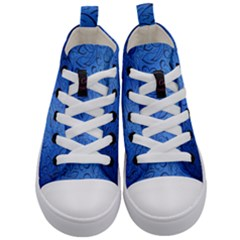 Fashion Week Runway Exclusive Design By Traci K Kids  Mid Top Canvas Sneakers
