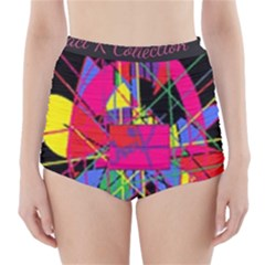 Club Fitstyle Fitness By Traci K High Waisted Bikini Bottoms