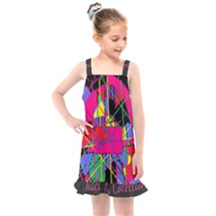 Club Fitstyle Fitness By Traci K Kids  Overall Dress by tracikcollection