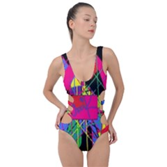 Club Fitstyle Fitness By Traci K Side Cut Out Swimsuit