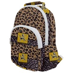 Cougar By Traci K Rounded Multi Pocket Backpack