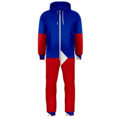 Flag Of The Philippines Hooded Jumpsuit (men)  by abbeyz71