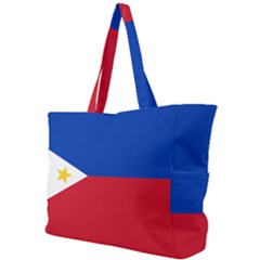 Flag Of The Philippines Simple Shoulder Bag