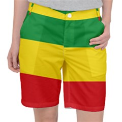 Ethiopia Tricolor Pocket Shorts