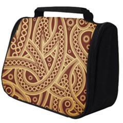 Fine Pattern Full Print Travel Pouch (big) by Sobalvarro