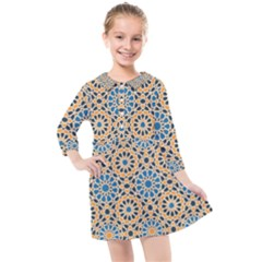 Motif Kids  Quarter Sleeve Shirt Dress by Sobalvarro