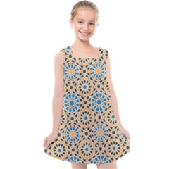 Motif Kids  Cross Back Dress by Sobalvarro