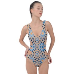 Motif Side Cut Out Swimsuit by Sobalvarro