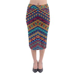 Untitled Midi Pencil Skirt by Sobalvarro