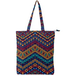 Untitled Double Zip Up Tote Bag by Sobalvarro