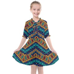 Untitled Kids  All Frills Chiffon Dress by Sobalvarro
