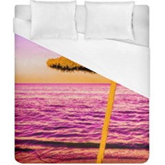 Pop Art Beach Umbrella  Duvet Cover (california King Size) by essentialimage